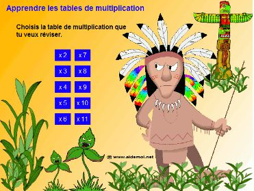 R�vise tes tables de multiplication (Tous)